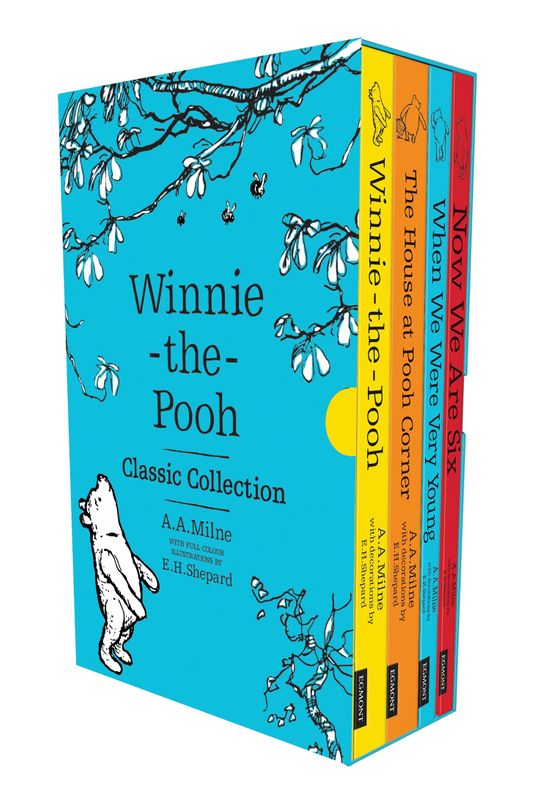 Winnie-the-Pooh Classic Collection - A. A. Milne, Illustrated by E. H. Shepard