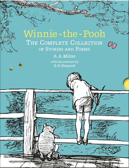 Winnie-the-Pooh: The Complete Collection of Stories and Poems: Hardback Slipcase Volume (Winnie-the-Pooh – Classic Editions) - A. A. Milne, Illustrated by E. H. Shepard