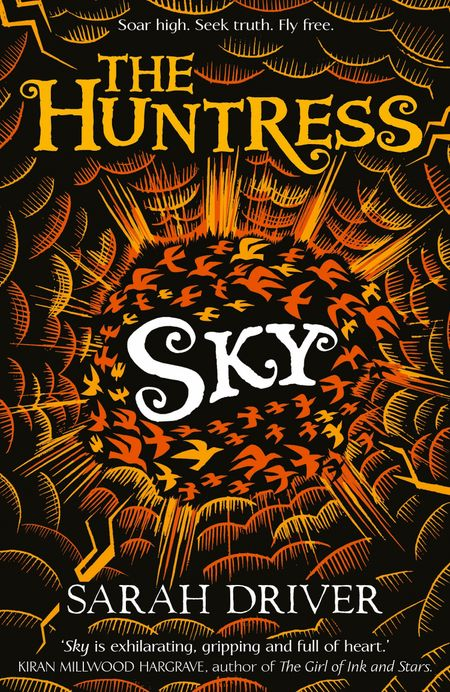 Sky (The Huntress Trilogy) - Sarah Driver