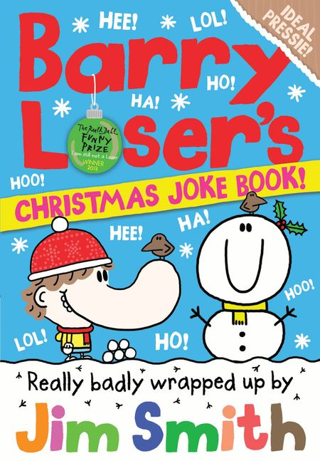 Barry Loser's Christmas Joke Book (The Barry Loser Series) - Jim Smith