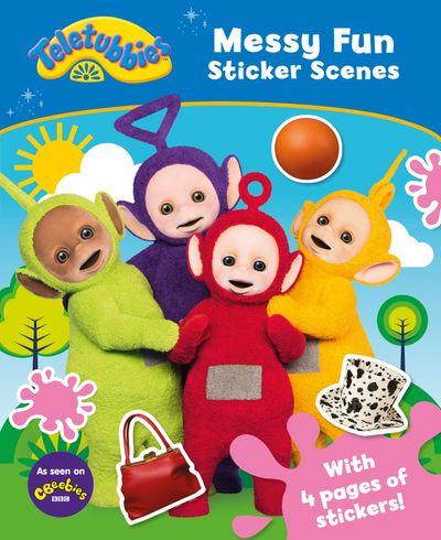 Teletubbies: Messy Fun Sticker Scene -