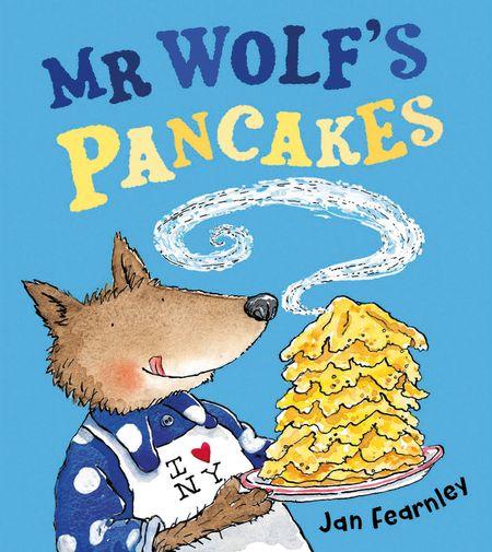 Mr Wolf's Pancakes - Jan Fearnley