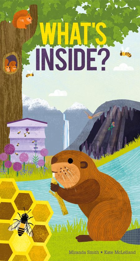 What's Inside? - Miranda Smith, Illustrated by Kate McLelland