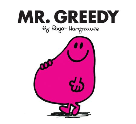 Mr. Greedy (Mr. Men Classic Library) - Roger Hargreaves