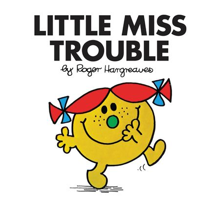 Little Miss Trouble (Little Miss Classic Library) - Roger Hargreaves