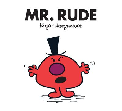 Mr. Rude (Mr. Men Classic Library) - Adam Hargreaves
