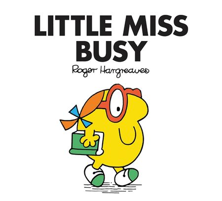 Little Miss Busy (Little Miss Classic Library) - Roger Hargreaves