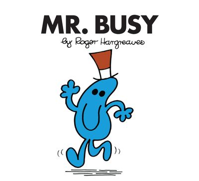Mr. Busy (Mr. Men Classic Library) - Roger Hargreaves