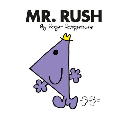 Mr. Rush (Mr. Men Classic Library) - Roger Hargreaves