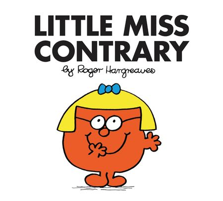 Little Miss Contrary (Little Miss Classic Library) - Roger Hargreaves