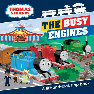 Thomas & Friends Busy Engines Lift-the-Flap Book - Egmont Publishing UK, Illustrated by Dan Crisp
