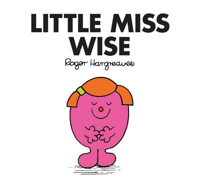 Little Miss Wise (Little Miss Classic Library) - Roger Hargreaves