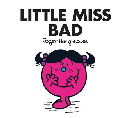 Little Miss Bad (Little Miss Classic Library) - Adam Hargreaves