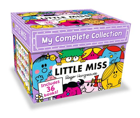 Little Miss: My Complete Collection Box Set - Roger Hargreaves and Adam Hargreaves, Illustrated by Adam Hargreaves