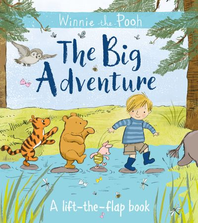 Winnie-the-Pooh: The Big Adventure: A lift-the-flap book - Jane Riordan, Illustrated by Angela Rozelaar, Eleanor Taylor and Mikki Butterley