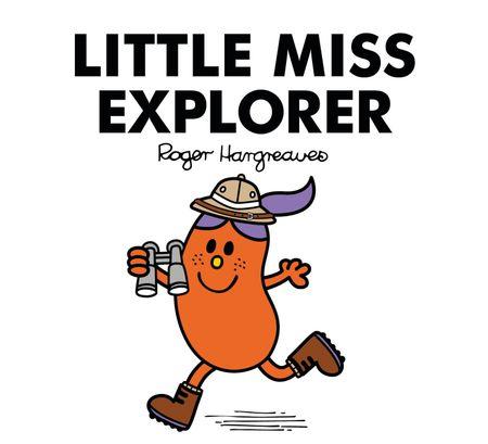 Little Miss Explorer - Adam Hargreaves