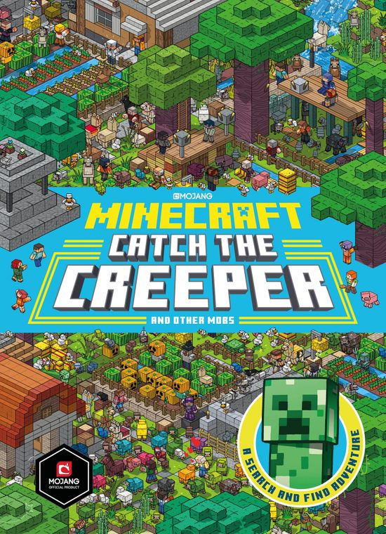 Minecraft Catch the Creeper and Other Mobs: A Search and Find Adventure - Farshore