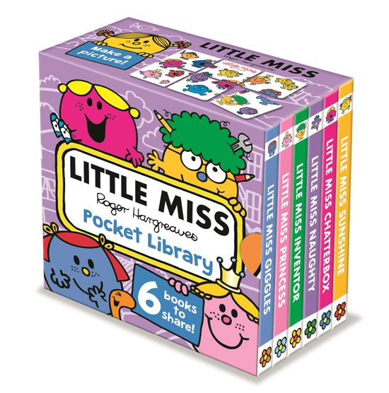 Little Miss: Pocket Library - Roger Hargreaves