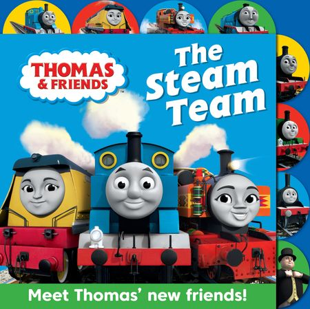 Thomas & Friends: The Steam Team: Tabbed board book - Rev. W. Awdry
