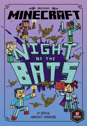 Minecraft: Night of the Bats (Minecraft Woodsword Chronicles #2) (Woodsword Chronicles) - Nick Eliopulos