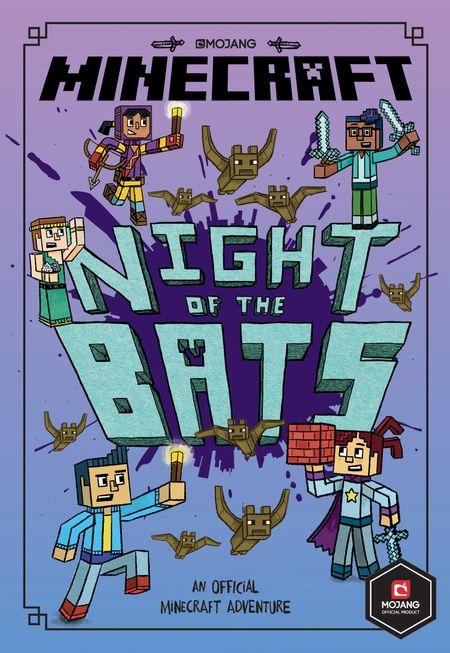 Minecraft: Night of the Bats (Minecraft Woodsword Chronicles #2) (Woodsword Chronicles) - Nick Eliopulos