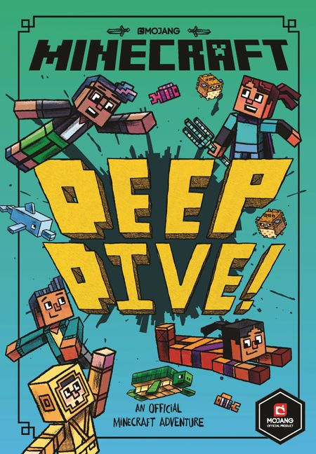 Minecraft: Deep Dive (Minecraft Woodsword Chronicles #3) (Woodsword Chronicles) - Nick Eliopulos