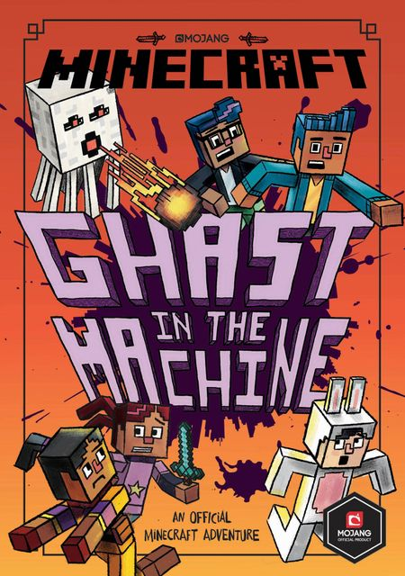 Minecraft: Ghast in the Machine (Minecraft Woodsword Chronicles #4) (Woodsword Chronicles) - Nick Eliopulos