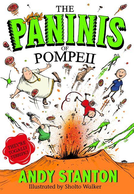 The Paninis of Pompeii - Andy Stanton