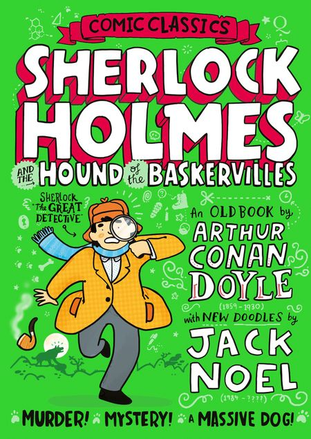 Sherlock Holmes and the Hound of the Baskervilles (Comic Classics) - Jack Noel, Illustrated by Jack Noel