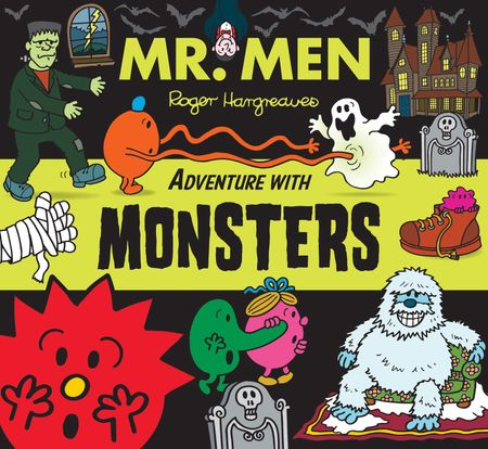 Mr. Men Adventure with Monsters (Mr. Men and Little Miss Adventures) - Adam Hargreaves