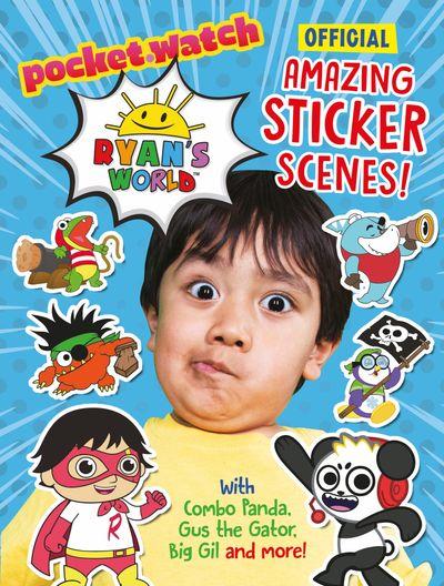 Ryan's World: Amazing Sticker Scenes - Egmont Publishing UK