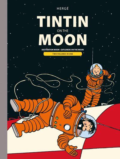 Tintin Moon Bindup - Hergé