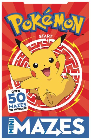 Pokemon Mini Mazes - Egmont Publishing UK