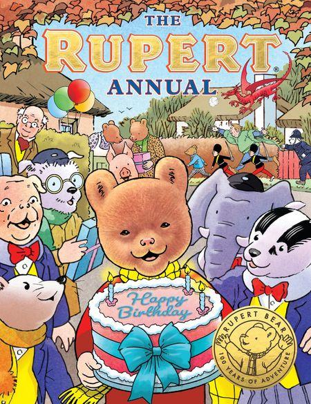 The Rupert Annual 2021: Celebrating 100 Years of Rupert - Egmont Publishing UK, Illustrated by Stuart Trotter