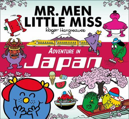 Mr. Men Little Miss Adventure in Japan - Adam Hargreaves