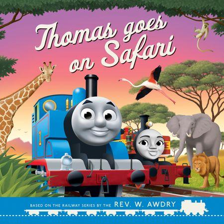 Thomas & Friends: Thomas Goes on Safari - Rev. W. Awdry, Illustrated by Robin Davies