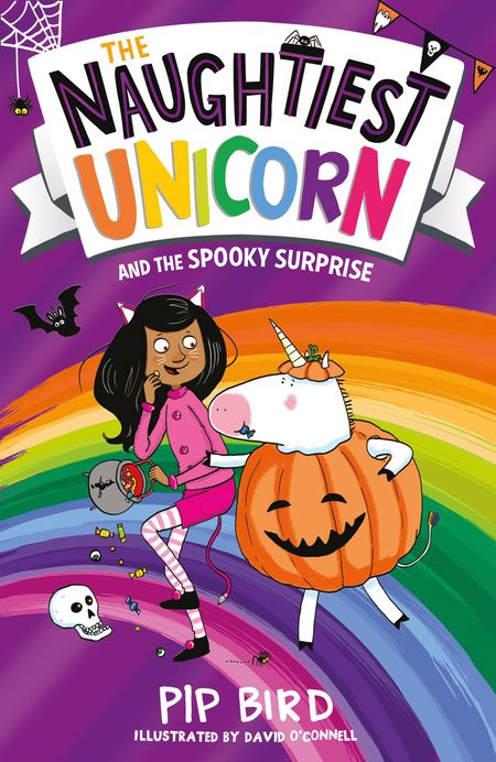 The Naughtiest Unicorn and the Spooky Surprise - Pip Bird, Illustrated by David O'Connell