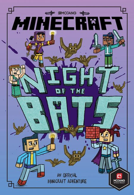 Minecraft: Night of the Bats (Minecraft Woodsword Chronicles #2) - Nick Eliopulos