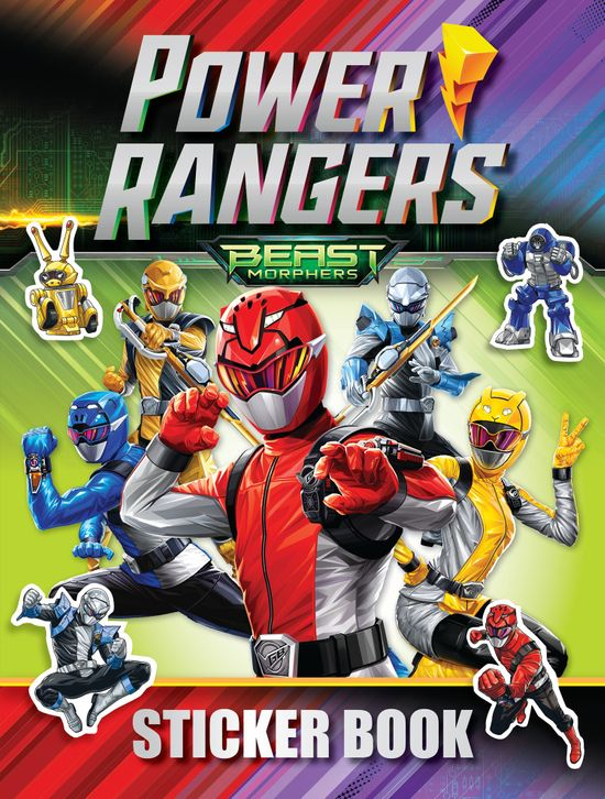 Power Rangers Beast Morphers Sticker Book - Egmont Publishing UK
