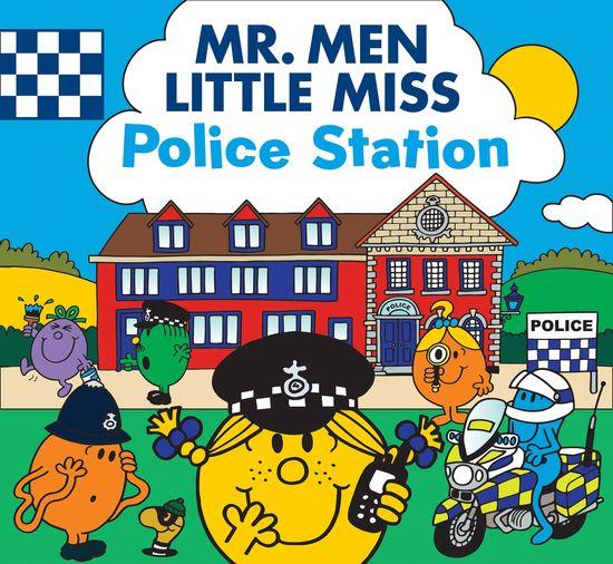 Mr. Men Little Miss Police Station - Adam Hargreaves