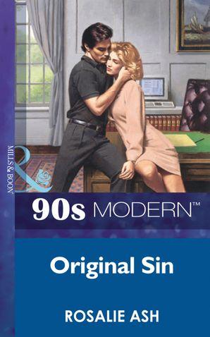 Original Sin (Mills & Boon Vintage 90s Modern)