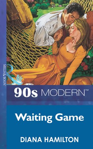 waiting-game-mills-and-boon-vintage-90s-modern