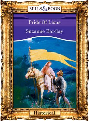 Pride Of Lions (Mills & Boon Vintage 90s Modern)