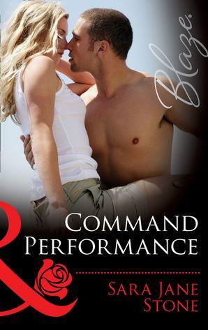 Command Performance (Mills & Boon Blaze) (Uniformly Hot!, Book 43)