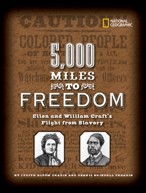 5000 Miles to Freedom (Biography) Hardcover  by Dennis Fradin