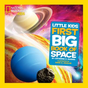 Little Kids First Big Book of Space (First Big Book) Hardcover  by Catherine D. Hughes
