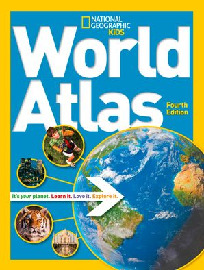 National Geographic Kids World Atlas (Atlas ) Hardcover  by