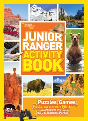 Junior Ranger Activity Book: Puzzles, Games, Facts, and Tons More Fun Inspired by the U.S. National Parks! (National Parks) Paperback  by No Author