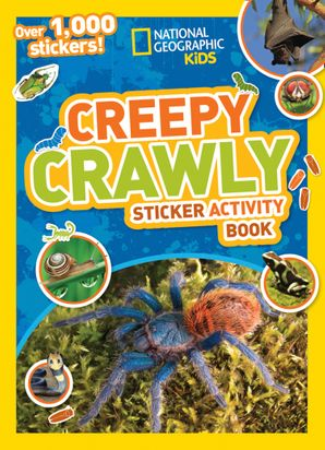 Creepy Crawly Sticker Activity Book: Over 1,000 stickers! Paperback  by No Author