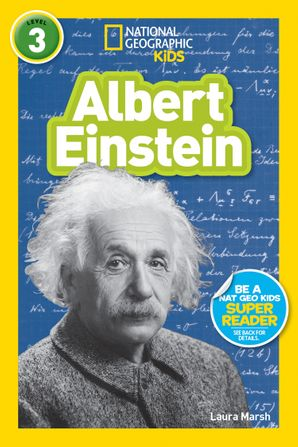 National Geographic Kids Readers: Albert Einstein (National Geographic Kids Readers: Level 3) Paperback  by Libby Romero